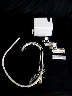 Toto TEL5LG10#CP Gooseneck EcoPower Thermal Mixing Faucet - Polished Chrome