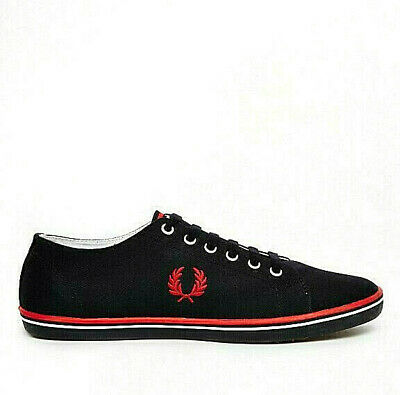 Fred Perry Kingston Mens Shoes Fashion Sneakers Trainers New Authentic