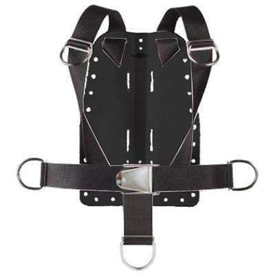 Storm Aluminum Backplate w/Harness and Crotch Strap for Technical Scuba Divers