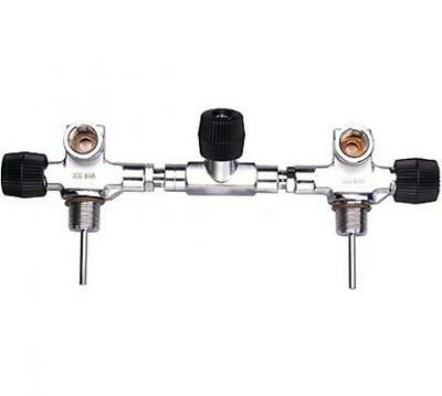 Storm Isolation Scuba Tank Manifold - 200BAR