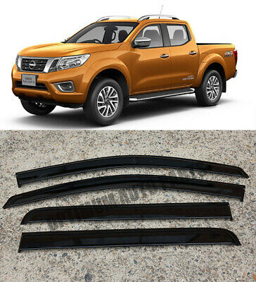 Weathershields Weather shields Window Visors for Nissan Navara NP300 D23 15-18