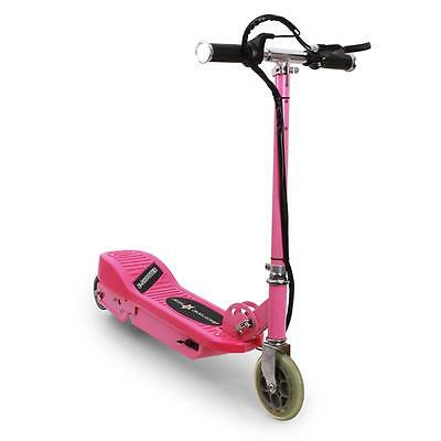 NEW PINK ELECTRIC SCOOTER FOR KIDS GIRLS RIDE ON XMAS GIFT 100W 16km/h *FREE P&P