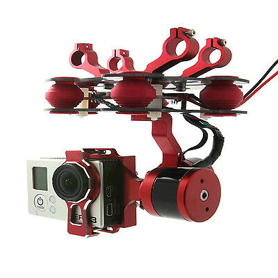 Brushless Gimbal 2 Achse f. GoPro Hero3 3+ axis für Tarot FY680 680PRO