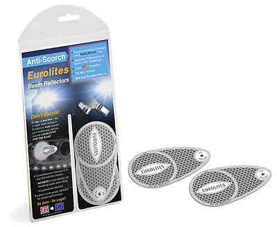 Eurolites Headlamp Beam Converters Head Light Adaptors Car Driving Outside UK