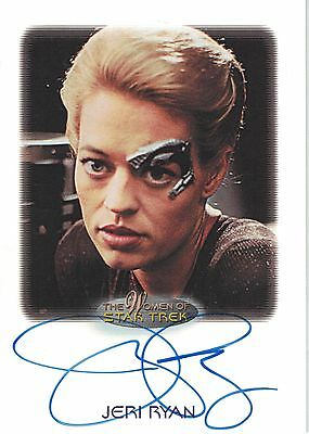 Star Trek of Women: Jeri Ryan autograph