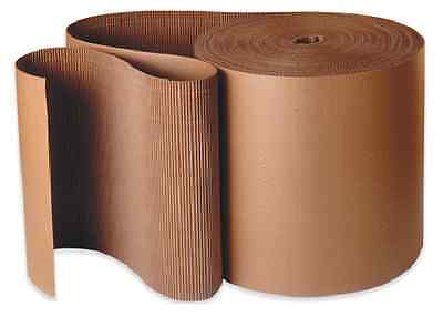 750mm x 75m CORRUGATED CARDBOARD PAPER ROLL 75 METRES