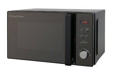 Russell Hobbs 20L Black Digital Microwave 800W, RHM2076B - 1 Year Warranty