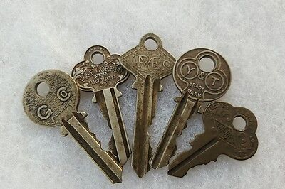 Vintage Antique Keys Decorative Ornate Steampunk Industrial Repurpose Upcycle B