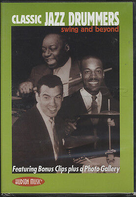 Classic Jazz Drummers Swing and Beyond Drum DVD Sid Catlett Louis Armstrong