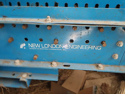 New London Engineering Roller Case Conveyor