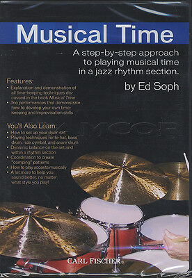 Ed Soph Musical Time Jazz Rhythm Section Drum Tuition DVD Learn How To Play
