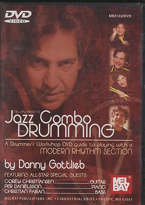 Jazz Combo Drumming Danny Gottlieb Drum Tuition DVD Learn How To Play