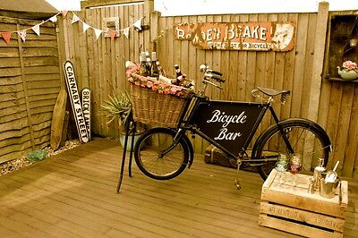 Vintage Bicycle Bar Hire - Events, Parties, Mobile Bar