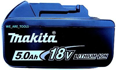 NEW Makita LED GAUGE BL1850B 18V GENUINE Battery 5.0 AH 18 Volt Fuel