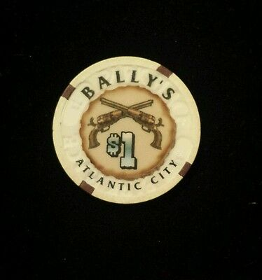 $1 Bally's Casino chip ~ Atlantic City ~ Wild West ~ Park Place