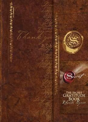 NEW The Secret Gratitude Book By Rhonda Byrne Hardcover Free Shipping