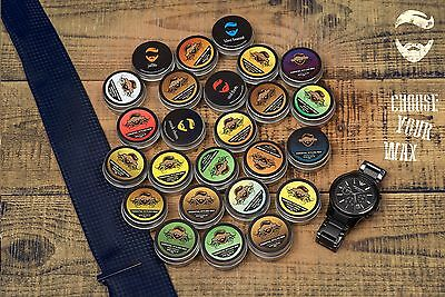 Essential Beards CHOOSE YOUR Strong Moustache Styling Wax 15g Made in the UK