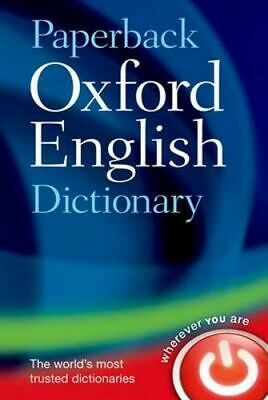 NEW Paperback Oxford English Dictionary By Oxford Dictionaries Paperback