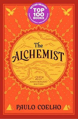 NEW The Alchemist, 25th Anniversary By Paulo Coelho Paperback Free Shipping