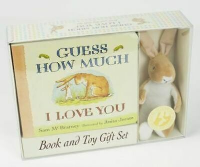 NEW Guess How Much I Love You By Sam McBratney Toy or Toy Pack Free Shipping