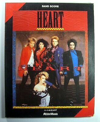 Heart Band Score Japan Guitar Tab