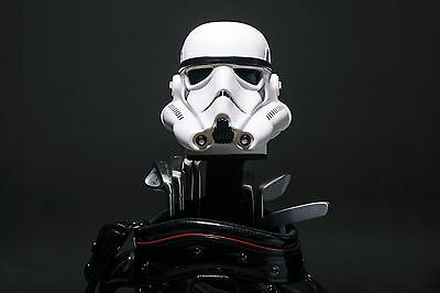 Custom Made Hand Painted Star Wars ANH Stormtrooper Golf Headcover