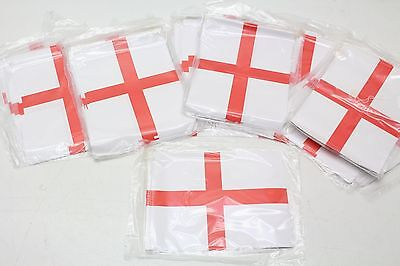 NEW Wholesale Job Lot 25 x 4 Metre England English Flag St Geroge Bunting Flags