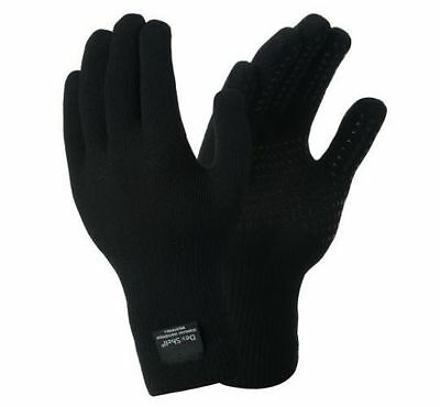 DexShell ThermFit Waterproof Outdoor Sports Gloves Size SMALL Black