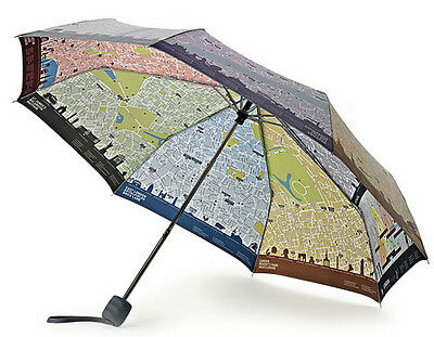 Fulton Ladies Compact London Brollymap Umbrella by Mariona Otero