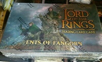 LORD OF THE Rings Ents Of the Fanghorn BOOSTER Box CCG Factory Sealed Look