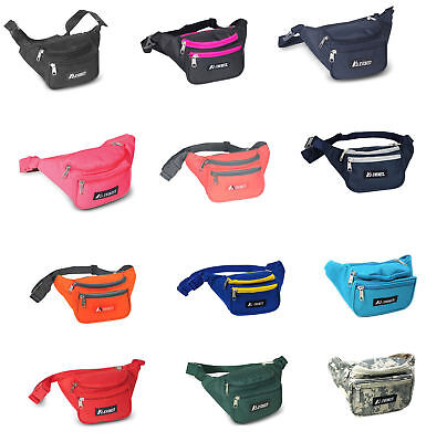 Waist Fanny Pack Belt Bag Pouch Travel Sport Hip Purse Mens Womens UNISEX