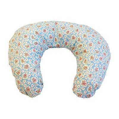 Deluxe Baby Nursing Feeding Maternity Pillow Cushion April Cottage Blue