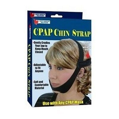 Chin Strap for CPAP Mask - Adjusts for Comfort Sleep Support Jaw Strip