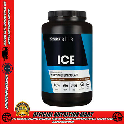 Horleys Ice Whey 1.32Kg Chocolate Hydrolysed Whey Protein Isolate | Wpi