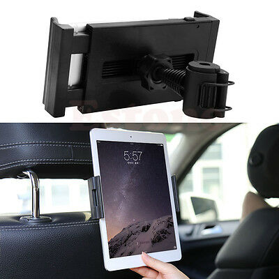 """Universal Car Seat Headrest Mount Holder Stand For iPad Samsung Tablet 7-10"""""""