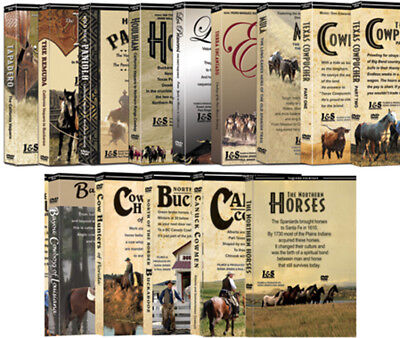 Vaquero Series - 14 DVD Set Series Collection (Over 21 Hours Total) - BRAND NEW