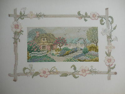 Cross Stitch House & Garden Completed