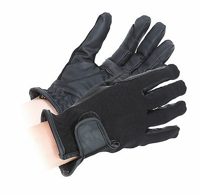 SHIRES SAPEY COMPETITION GLOVES 190 equine rider leather gloves