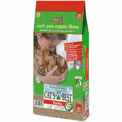 Cat's Best Oko Plus Cat Litter -  30L *Buy Two Packs For Less*