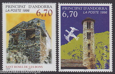 ANDORRA - 1996 Churches (2v) - UM / MNH