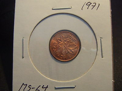 Canada One Cent 1971 ,  Ms-++++!!!!!
