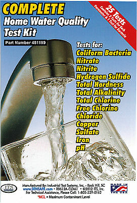 COMPLETE 13 Test Water Test Kits, for Home, Drinking & Well Water