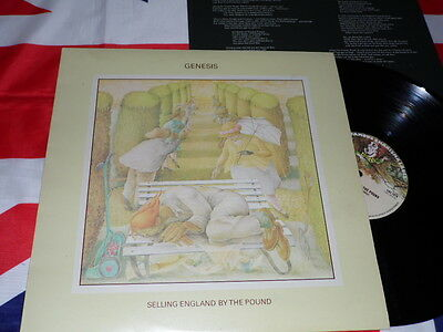 Genesis Selling England By The Pound - LP + Inserto Press 1973 Charisma Uk