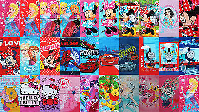 Kinder  Handtuch  Minnie  Frozen  Cars  Winnie Pooh  Hello Kitty  My Little Pony