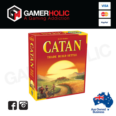 Settlers of Catan 5th Edition Core Set Board Game Brand New