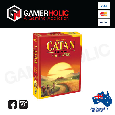 Catan: Trade Build Settle Expansion 5-6 Player Board Game Sealed - 5th Edition