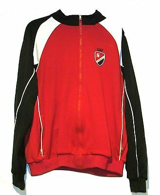 THE SOPRANOS HBO Zip Up Track Jacket Mens 2XL XXL Red Black White Windbreaker