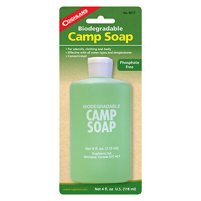 Coghlans Camp Soap - 4Oz / 120Ml - Perfect For The Outdoors (Cog 9617)