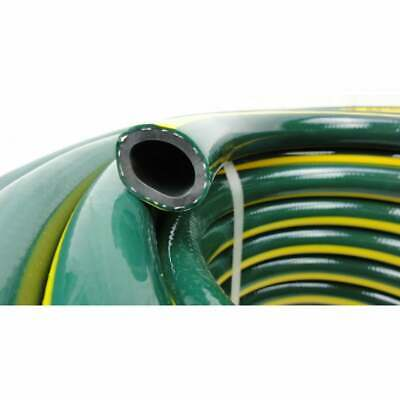 """20M 18MM 3/4"""" Rubber Garden Water Hose  Double Walls 9.5/10 Kink Free Rating"""