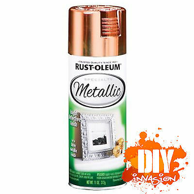 Rust-Oleum Metallic Copper Spray Paint Bright Reflective Finish Arts & Craft